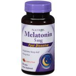 Natrol Melatonin Fast Dissolve Flavor 5mg Dietary Supplement, 90ct