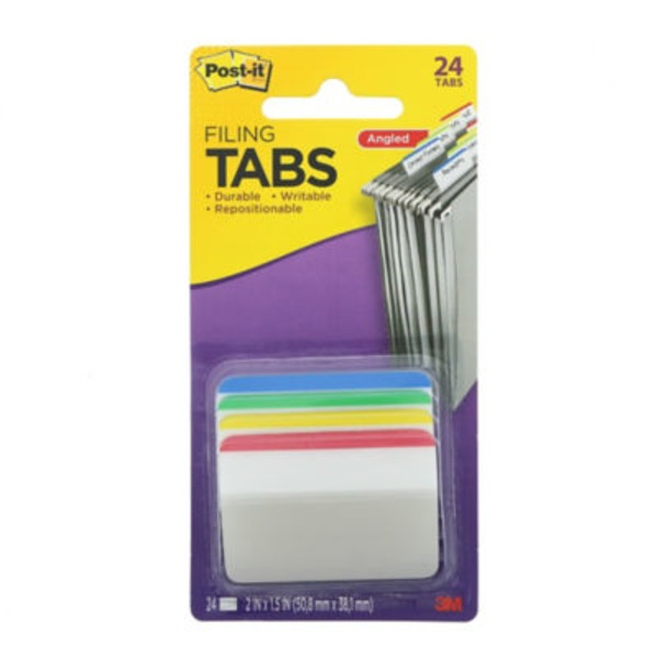 Post It Filing Tabs 2 Inch