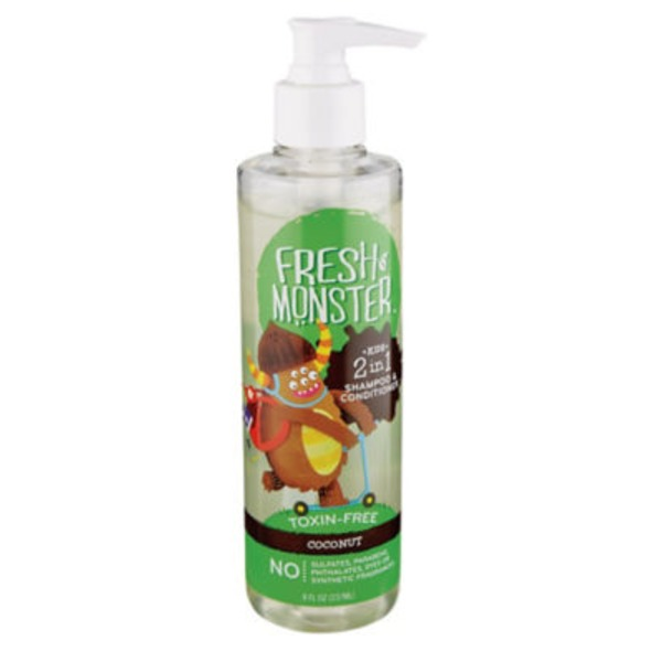Fresh Monster Coconut 2 In 1 Kids Shampoo & Conditioner