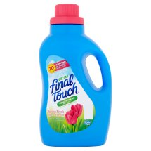 Final Touch Ultra Spring Fresh Concentrated Fabric Softener, 60 fl oz