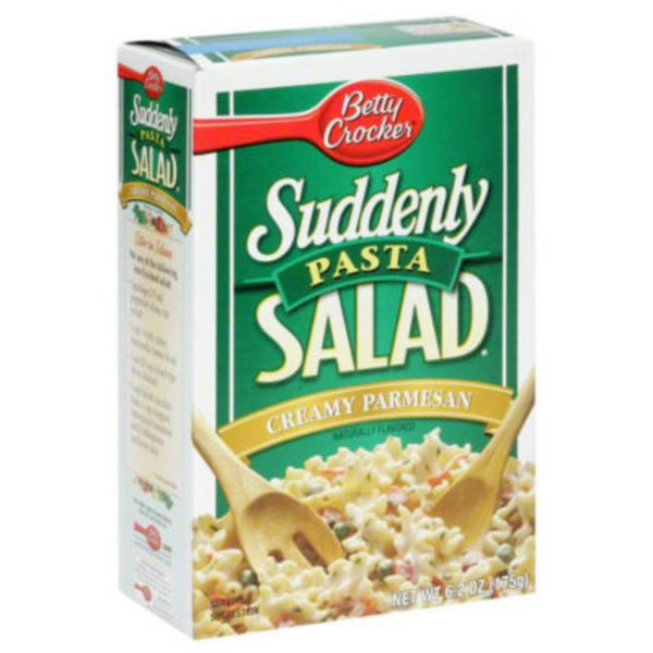 Betty Crocker Suddenly Salad Creamy Parmesan Pasta Salad