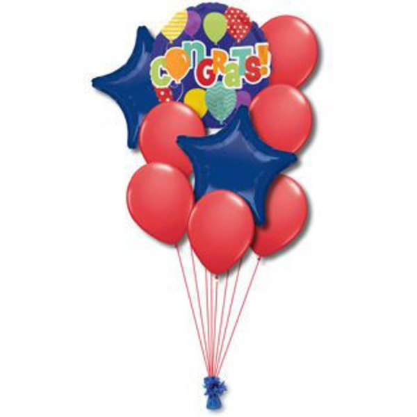 Congratulations Medium Balloon Bouquet