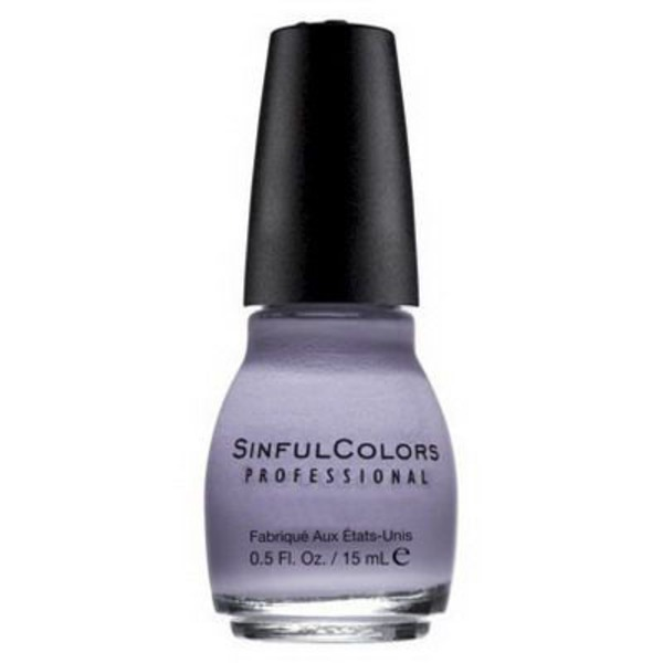 Sinful Colors Professional Nail Polish - Lavender #1007