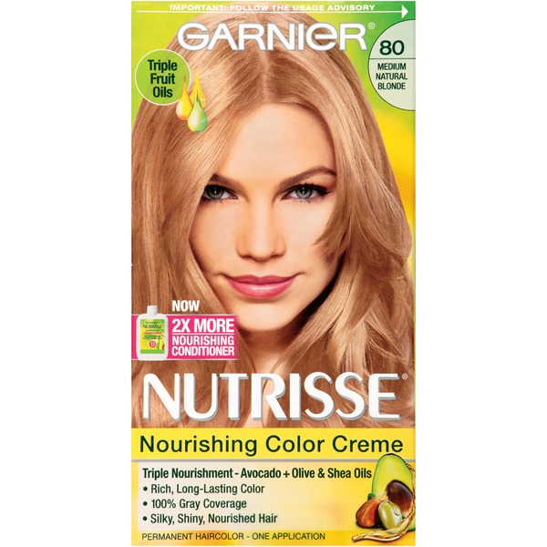 Nutrisse® 80 Medium Natural Blonde (Butternut) Nourishing Color Creme