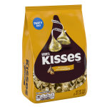 Hershey's Kisses Milk Chocolate with Almonds Candy, 35 Oz