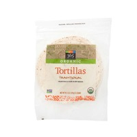 365 Organics Unbleached White Tortillas