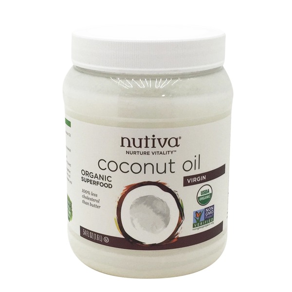 Nutiva Organic Superfood Virgin Coconut Oil