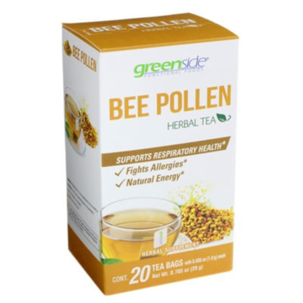 Greenside Bee Pollen Herbal Tea Bags