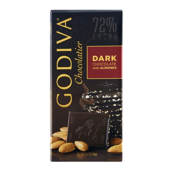 Godiva Dark Chocolate With Almonds