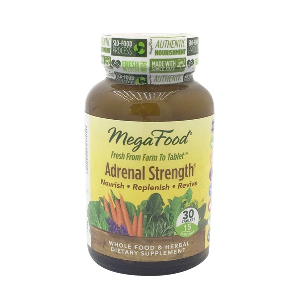 MegaFood Therapeutix Adrenal Strength Whole Food & Herbal Dietary Supplement