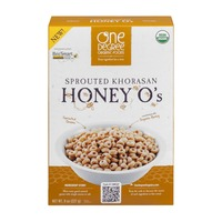 One Degree Organics Sprouted Khorasan Honey O's