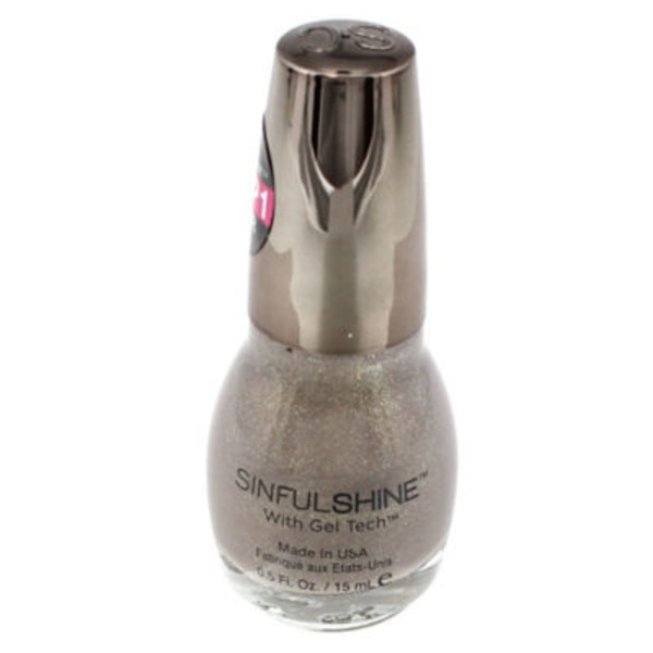 Sinful Colors Sinful Shine Step 1 Color Nail Color, Prosecco 1612