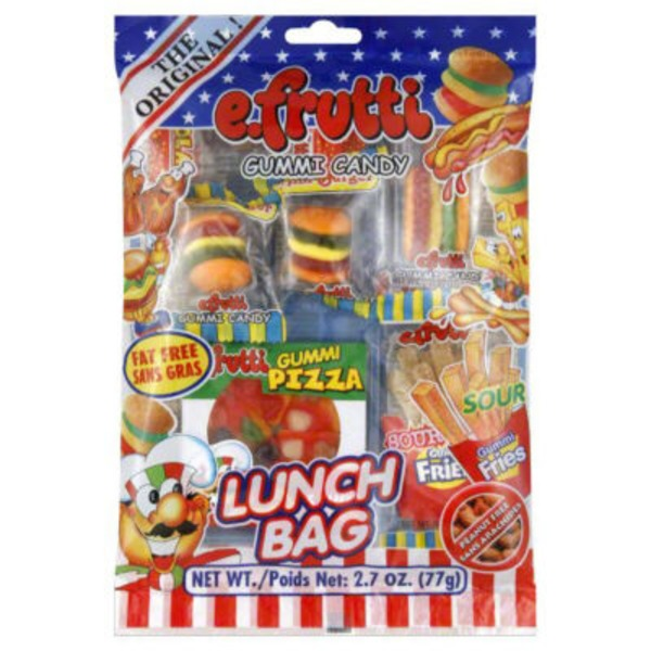 E. Frutti Assorted Lunch Bag Gummi Candy