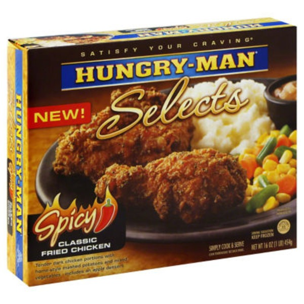 Hungry-Man Selects Spicy Classic Fried Chicken