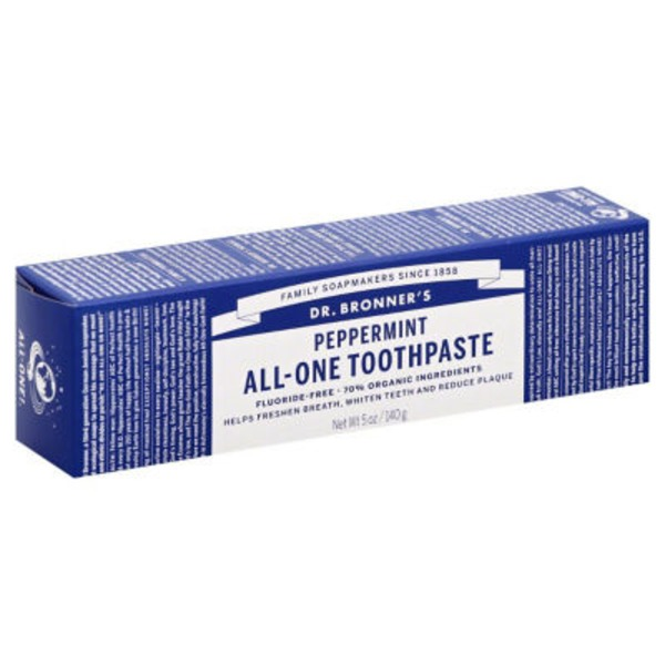 Dr. Bronner's Toothpaste, All-One, Peppermint