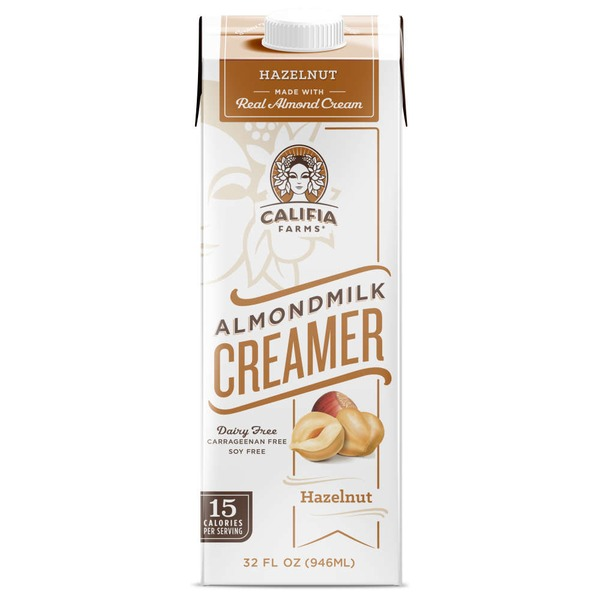 Califia Farms Hazelnut Almondmilk Creamer