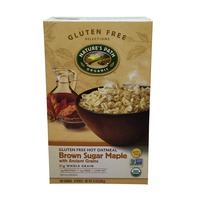 Nature's Path Brown Sugar Maple Oatmeal with Ancient Grains