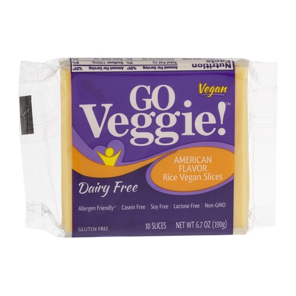 GO Veggie! American Flavor Rice Vegan Slices