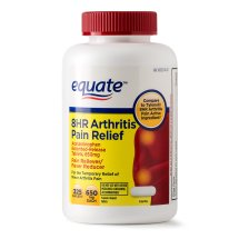 Equate Arthritis Pain Relief Extended Release Caplets, 650 mg (Choose your Count)