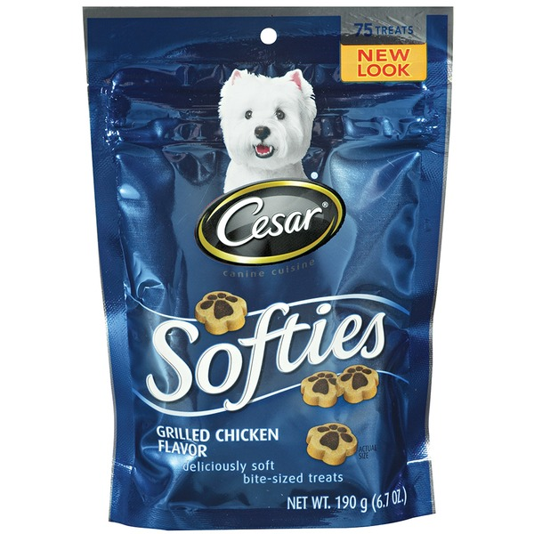 Cesar Canine Cuisine Softies Grilled Chicken Flavor Dog Care & Treats