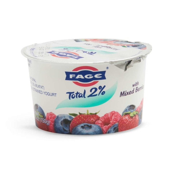 Fage Total 2% with Mixed Berries Lowfat Greek Strained Yogurt