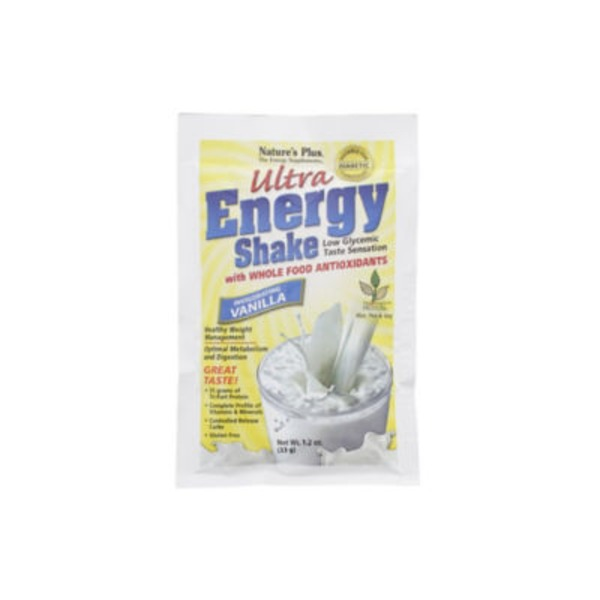 Nature's Plus Ultra Energy Vanilla Shake Packet