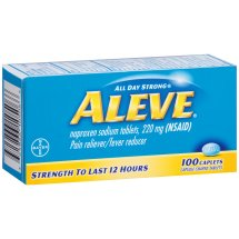 Aleve Caplet, Pain Reliever/Fever Reducer, 100ct