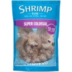 Frozen Raw 1lb. Super Colossal Shrimp: Shell on, EZ Peel with Tails