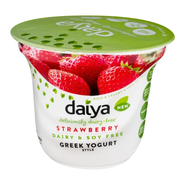 Daiya Dairy Free Greek Yogurt Strawberry