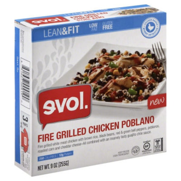 Evol Foods Fire Grilled Chicken Poblano