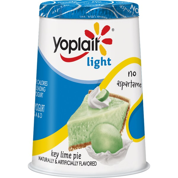 Yoplait Light Key Lime Pie Fat Free Yogurt