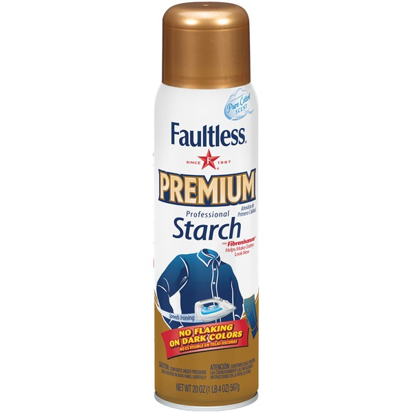Faultless Premium Professional Pure Cotton Scent Starch
