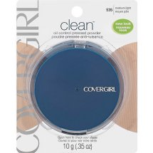 CoverGirl Clean Oil Control Pressed Powder, Medium Light 535