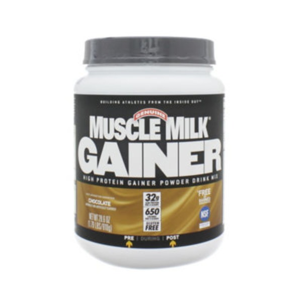 Muscle Milk Gainer Protein Powder Drink Mix, Chocolate