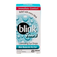 Blink Tears Lubricating Eye Drops Mild-Moderate Dry Eye