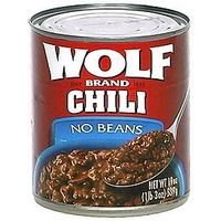 Wolf Chili With No Beans