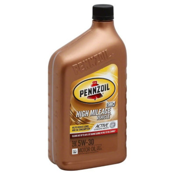 Pennzoil High Mileage Motor Oil