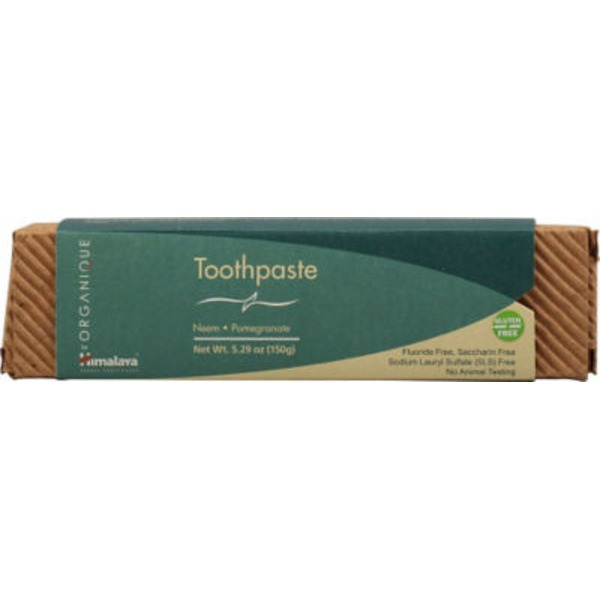 Himalaya Organique Neem & Pomegranate Toothpaste