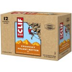 Clif Bar, 11 Grams of Protein, Crunchy Peanut Butter, 2.4 Oz, 12 Ct