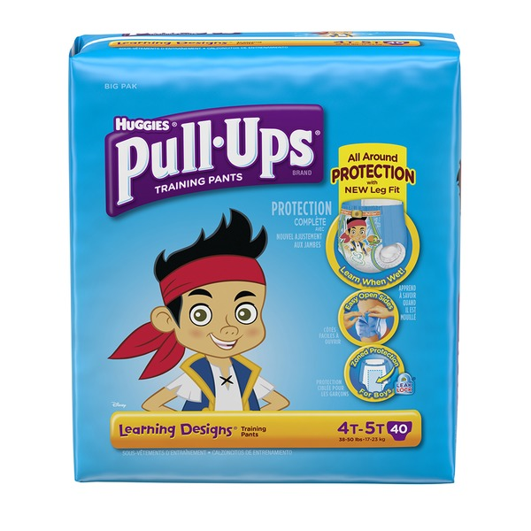 Pull Ups Learning Designs 4T-5T Boys Training Pants