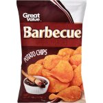 Great Value Barbecue Potato Chips 8 oz