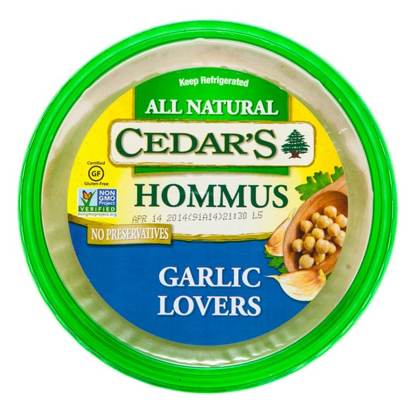 Cedar Garlic Lovers Hommus