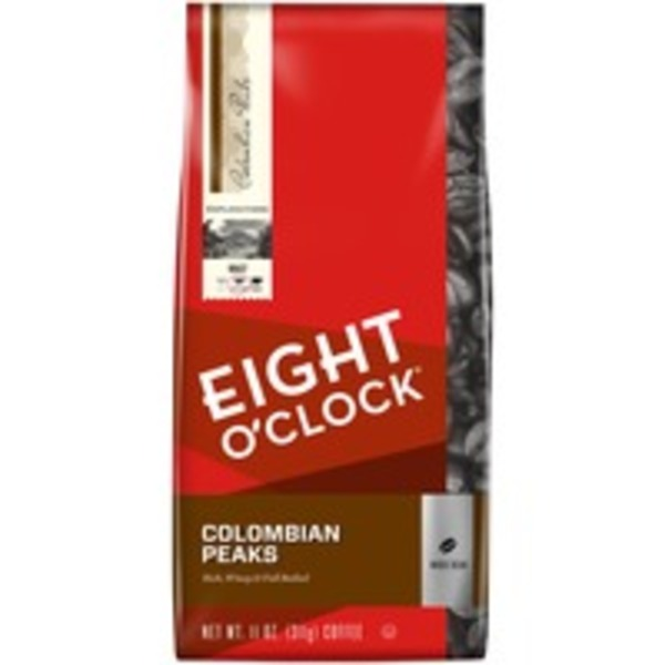 Eight O'Clock Coffee Colombian Peaks Whole Bean Coffee