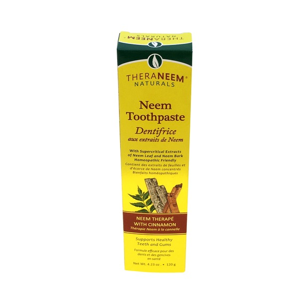 Theraneem Naturals Neem Toothpaste with Cinnamon