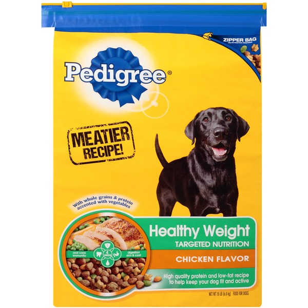 Pedigree Healthy Weight Targeted Nutrition Chicken Flavor Dog Food