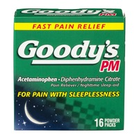 Goody's PM Pain Reliever  and Nighttime Sleep-Aid Powder Packs - 16 CT