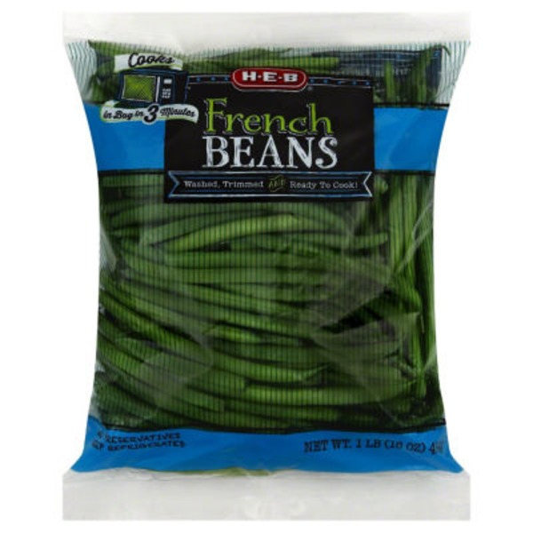 H-E-B French Green Beans