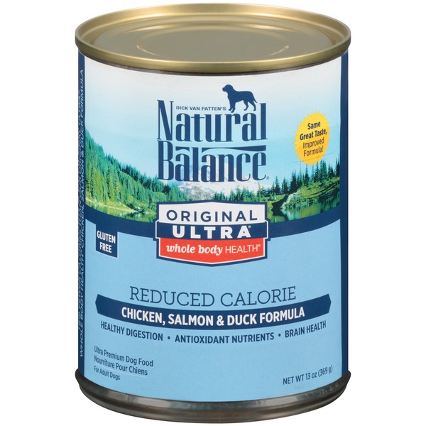Natural Balance Original Ultra Whole Body Health Reduced Calorie Chicken Salmon & Duck Formula Dog Food
