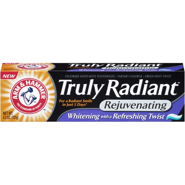 Arm & Hammer Truly Radiant Rejuvenating Fresh Mint Twist Toothpaste