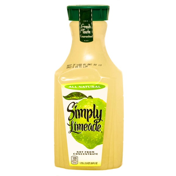 Simply Beverages Limeade